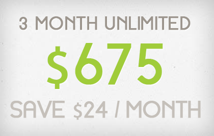 3 Consecutive Months - $555